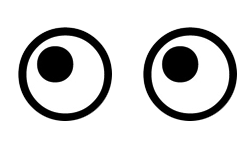 Kamio Millions Of Stickers Eyes Png Drawings
