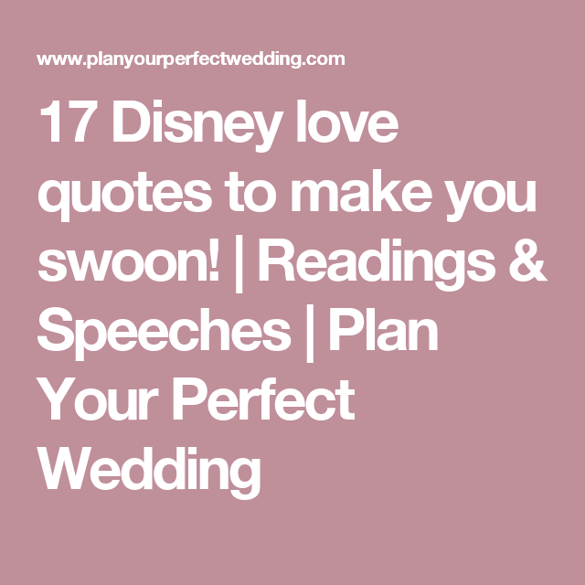 17 Disney Love Quotes To Make You Swoon!