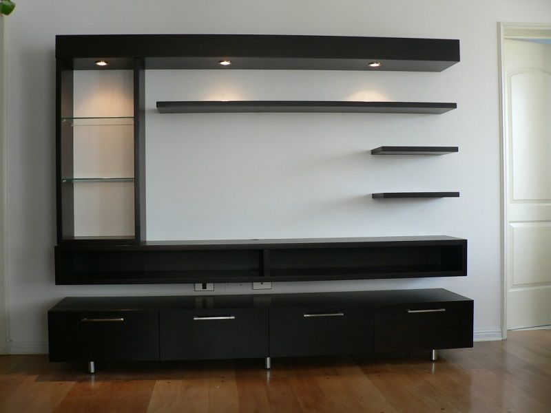 Pin By Saleem Akhtar On Muebles A Medida Wall Tv Unit Design Tv Cabinet Design Modern Tv Wall Units