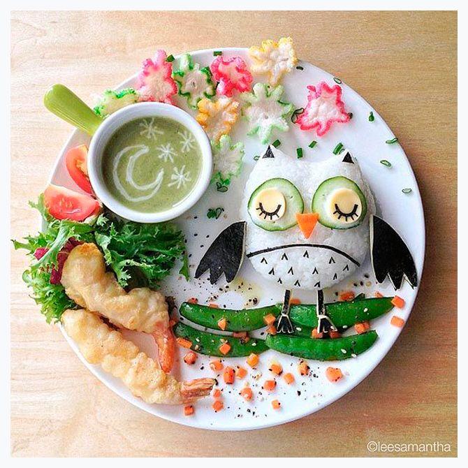 Con la comida a veces se juega de comida platos y for Comidas originales