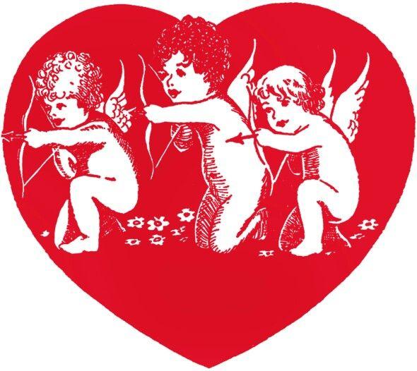 Cupid Valentine's graphic
