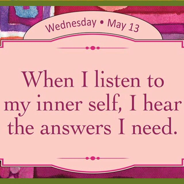 May 13th  Louise Hay