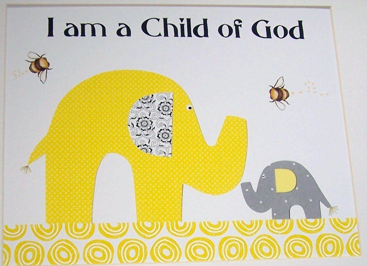 Baptism Gift Children\'s Room Art Nursery Decor Kids by vtdesigns ...