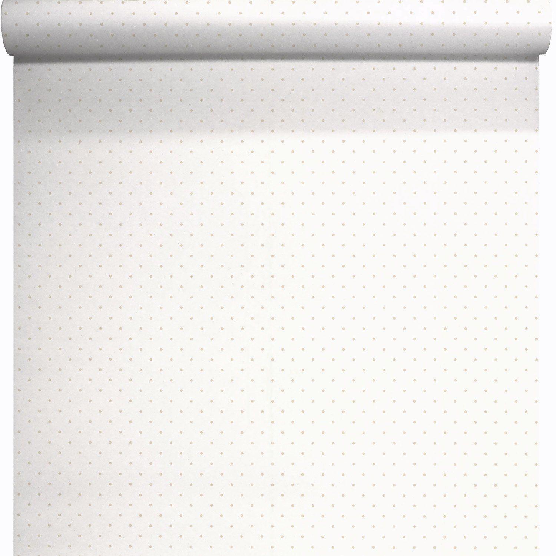 papier peint expans sur papier pois gris larg m. Black Bedroom Furniture Sets. Home Design Ideas