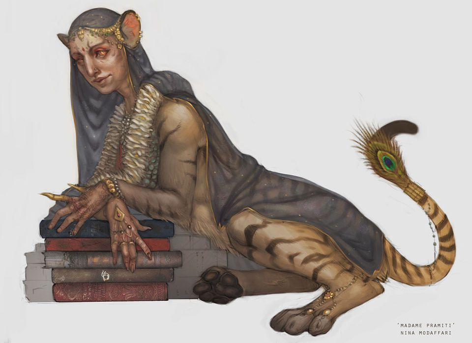 Fan Art That Shows Us What Was Missing From The Harry Potter Films But Were In The Harry Potter Books Art Sphinx Mythology Character Art