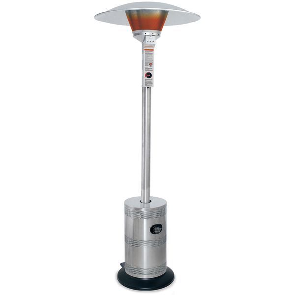 Endless Summer Stainless Steel Commercial LP Gas Patio Heater