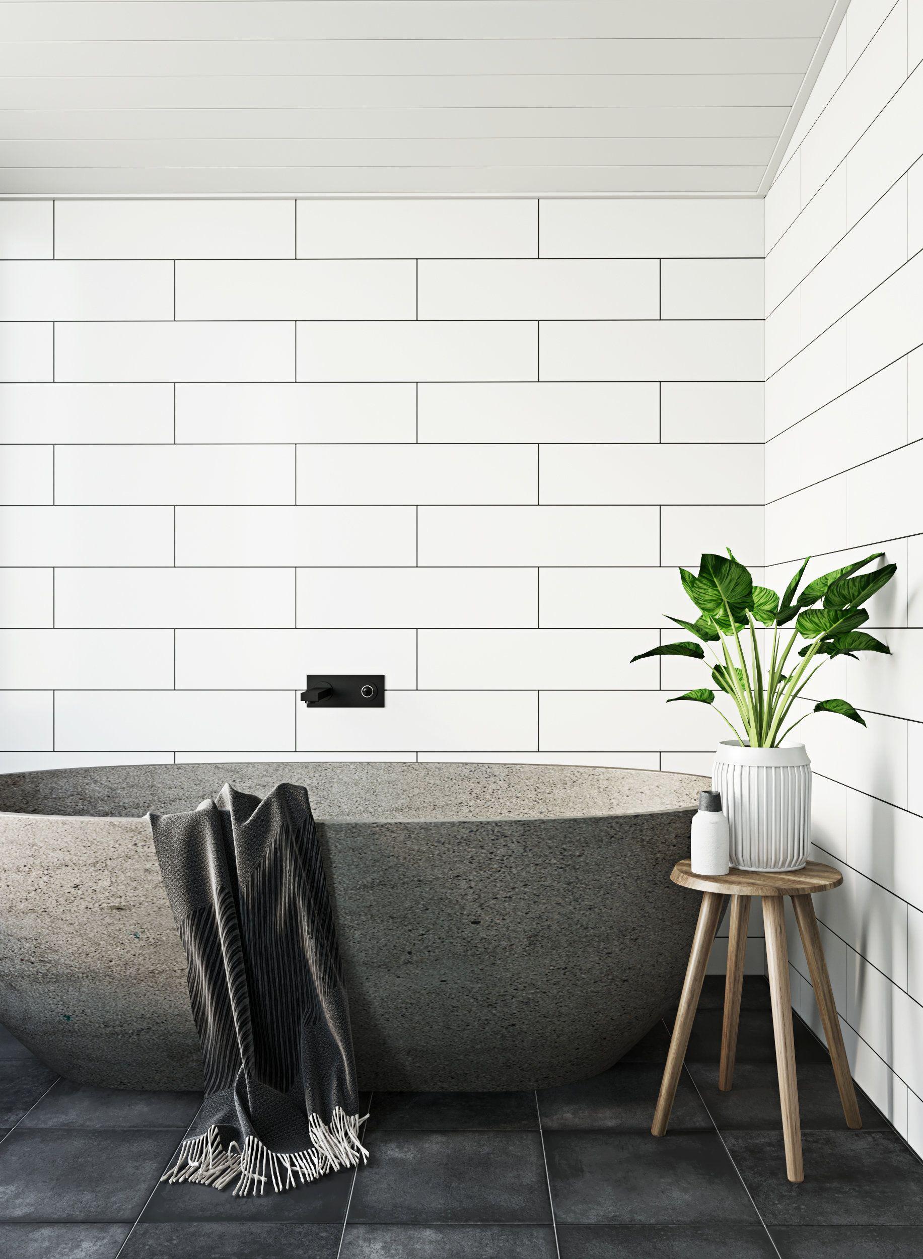 La salle de bain zen japandi : inspiration style Contemporain en ...