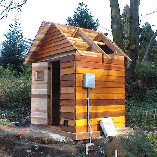 Amazing 4u0027 X 6u0027 Outdoor Sauna Kit + Heater + Accessories