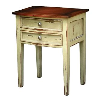 Tables - Side Tables - Colonial Bow Front Side Table :: The Bramble Company.