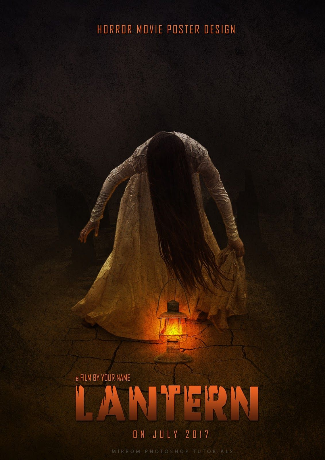 Create A Creepy Horror Movie Poster In Photoshop Photoshop