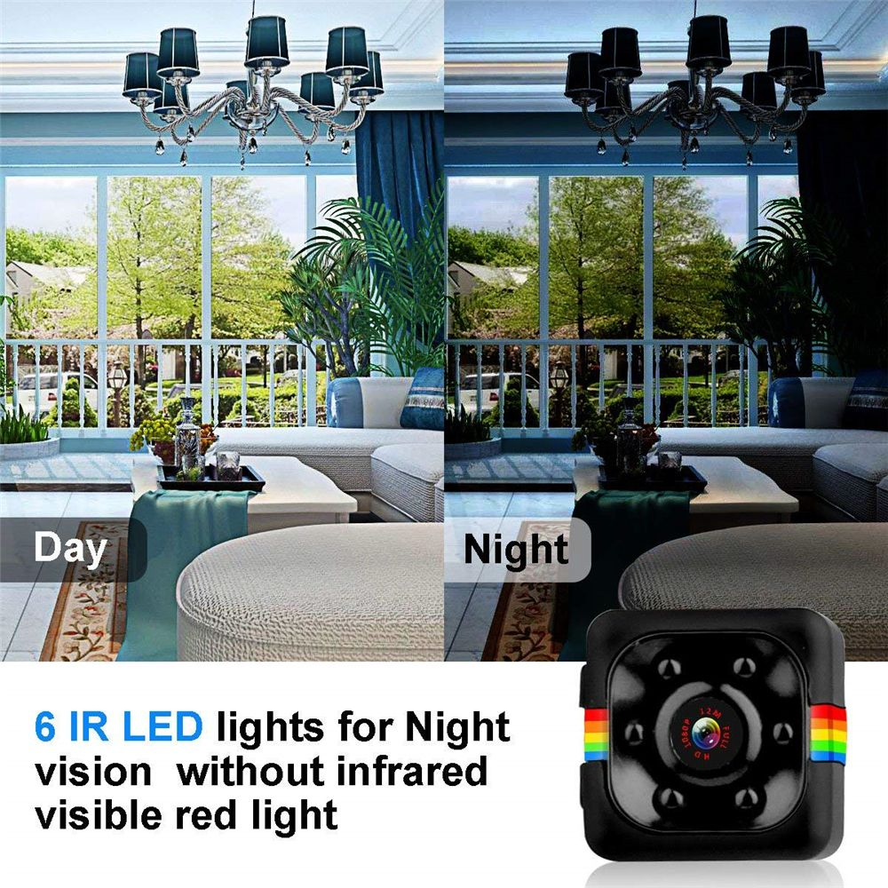 Smallest Camera With Night Vision No Matter The Day Or Night It Is Equally Clear For Home Office Night Vision Nanny Cam Small Camera