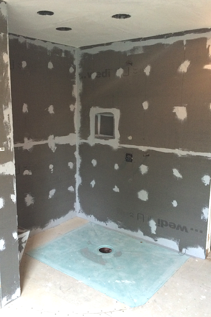 7 Myths About One Level Curbless Showers Wet Room Shower Wet Rooms Shower Remodel