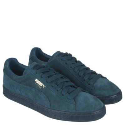 new arrival a58a0 0799b Puma Men's Casual Sneaker Suede Classic + Mono ICE ...