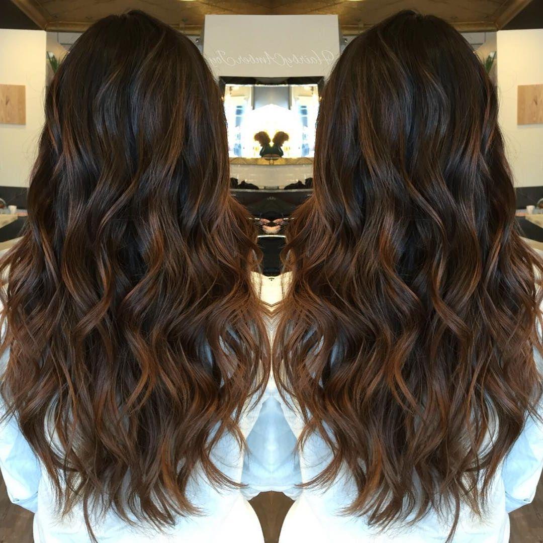 25 Caramel Ombré Hair Color Ideas #ombrehair