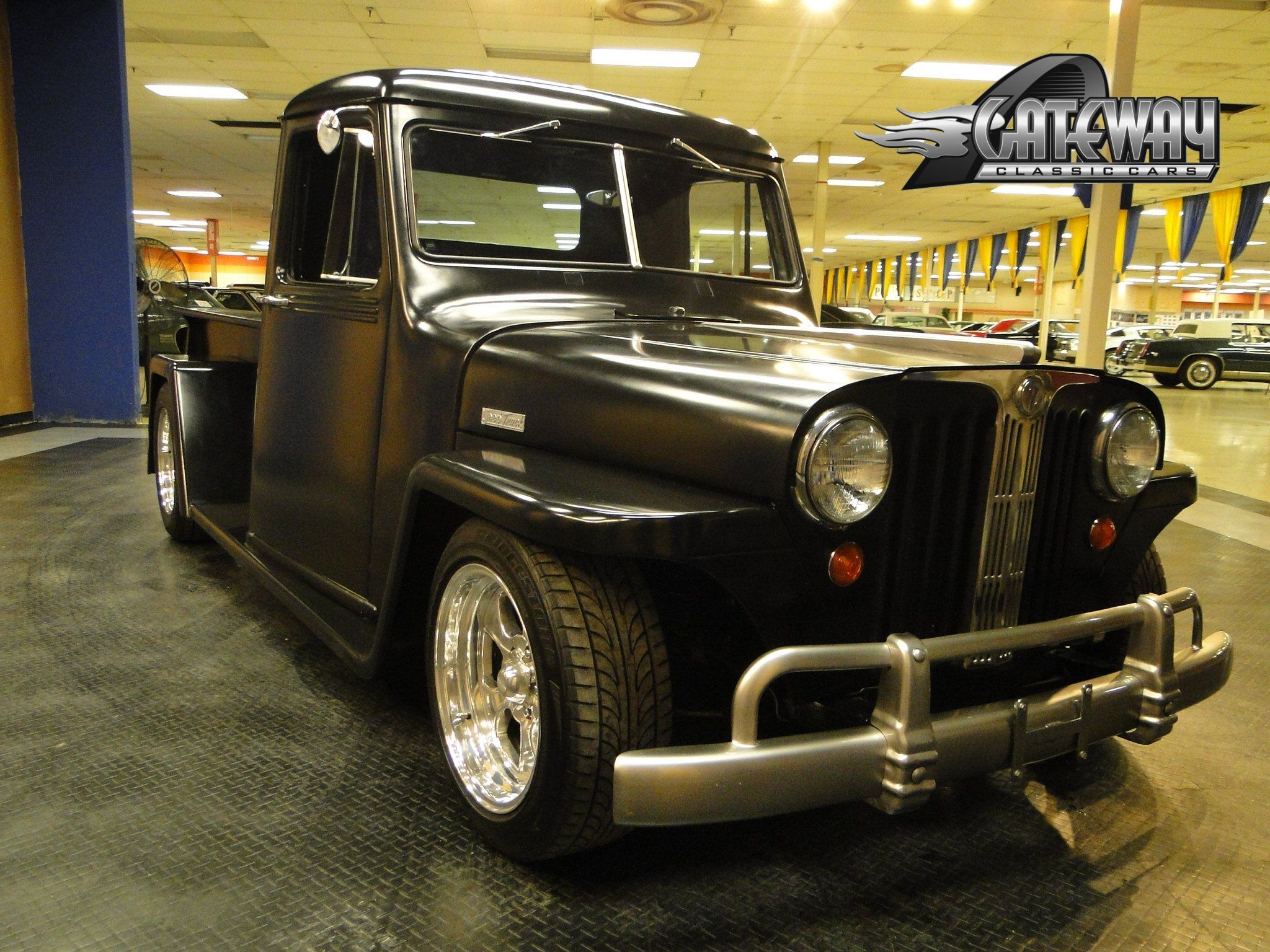 1948 willys jeep truck hot rod rods retro pickup wallpaper