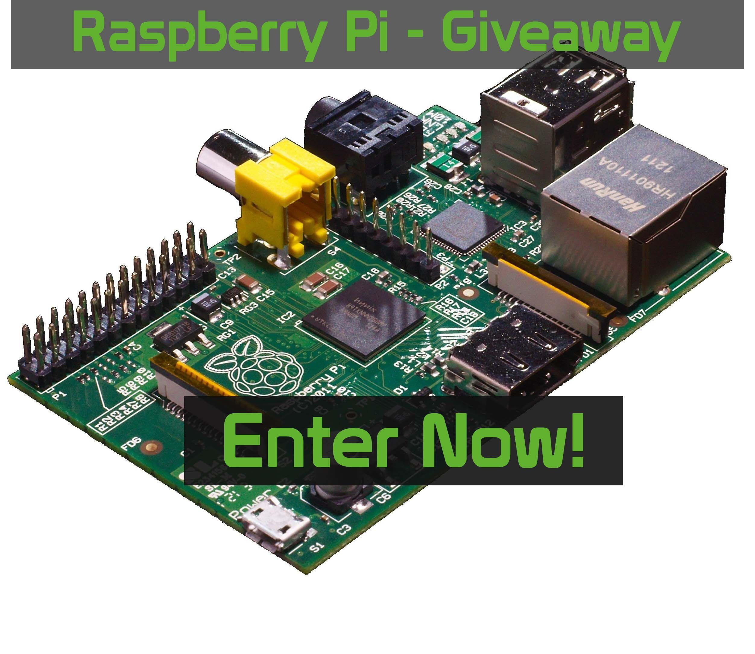 Raspberry Pi Model B Giveaway – Free Shipping Worldwide