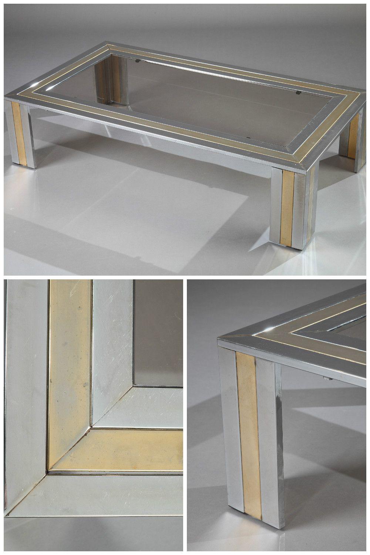 Metal Coffee Table By Romeo Rega