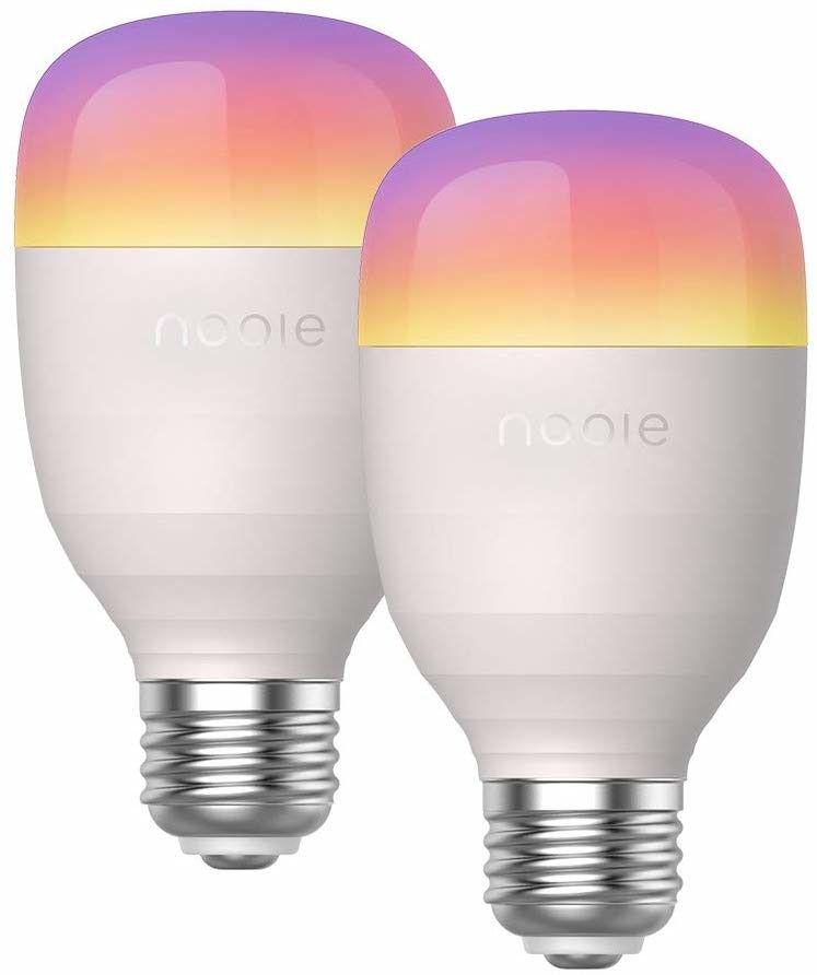 Nooie Bombilla Led Inteligente E27 10w Bombilla Wifi Con
