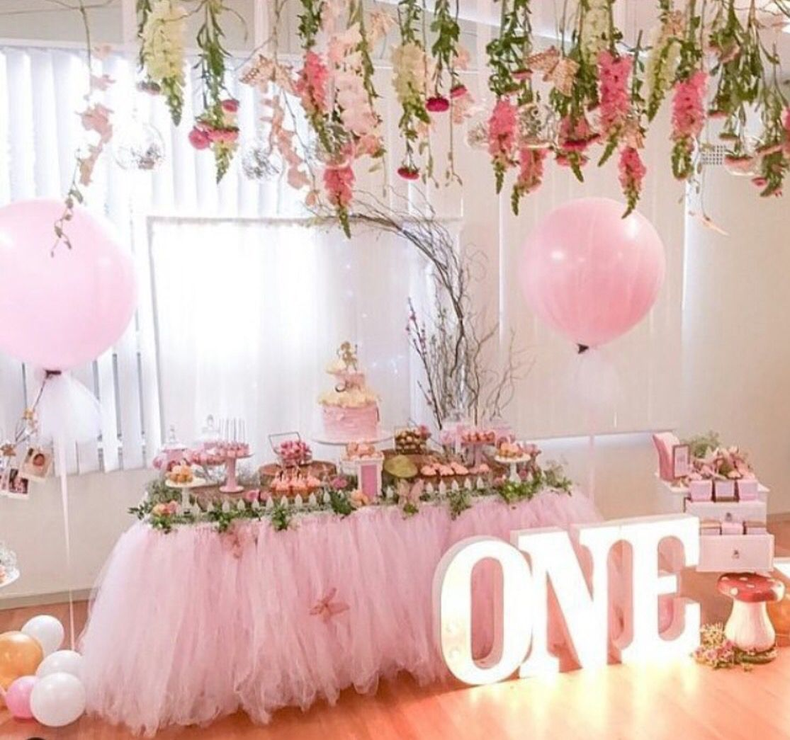 Baby Girls 1st Birthday Birthday Parties Fairy Birthday Party
