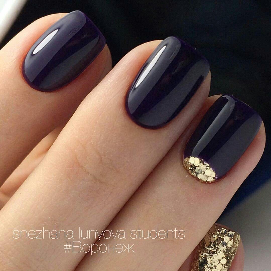 Черный как всегда хорош | Nail Art | Pinterest | Nagelkunst ...