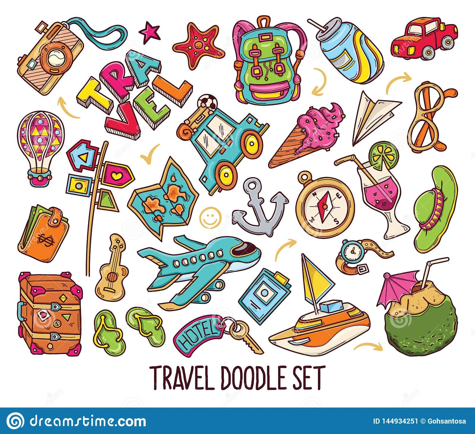 travel doodles Google Search in 2020 Travel doodles