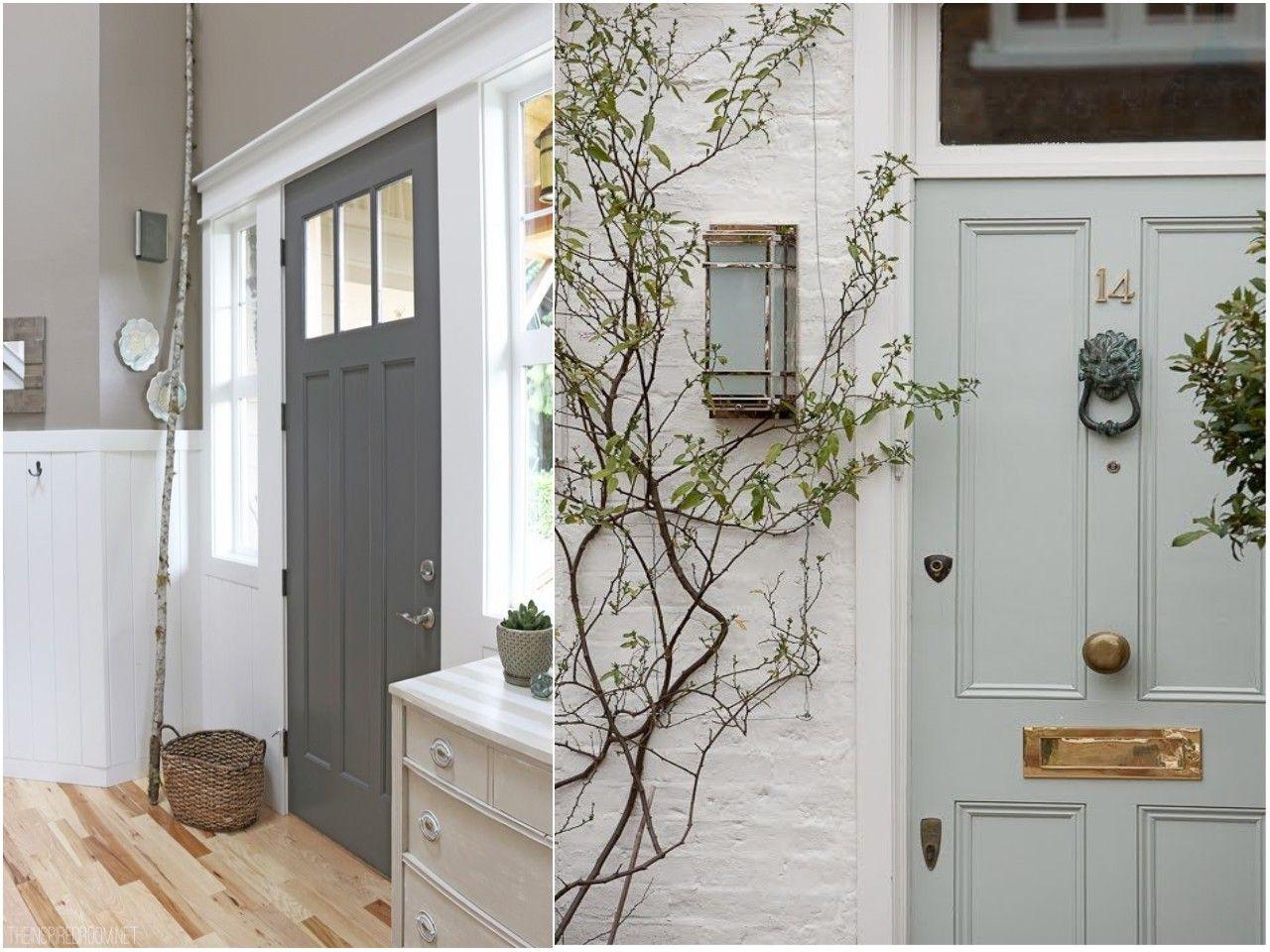 C mo pintar las puertas de casa ideas e inspiraci n for Puertas y paredes blancas