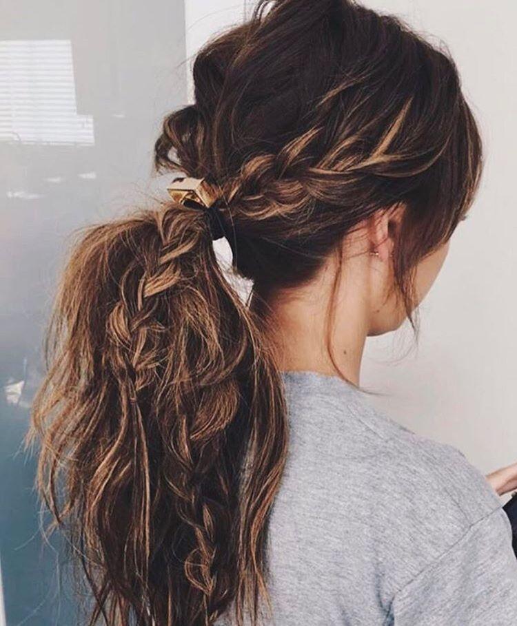 Gefallt 4 557 Mal 19 Kommentare Modernsalon Modernsalon Auf Instagram Pony Up Celebrity Sty Greasy Hair Hairstyles Hair Styles Curly Hair Styles
