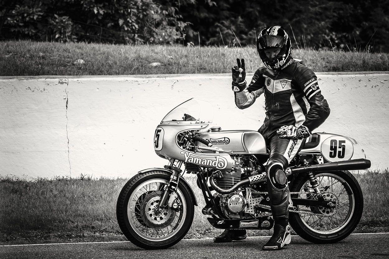 The Yamando: A vintage Yamaha racer with a Norton frame | Custom bikes