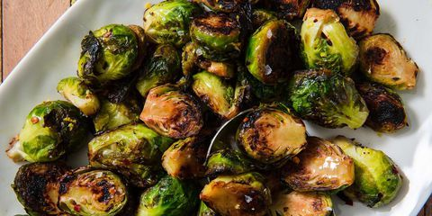 Brussels Sprout Chips #smashedbrusselsprouts