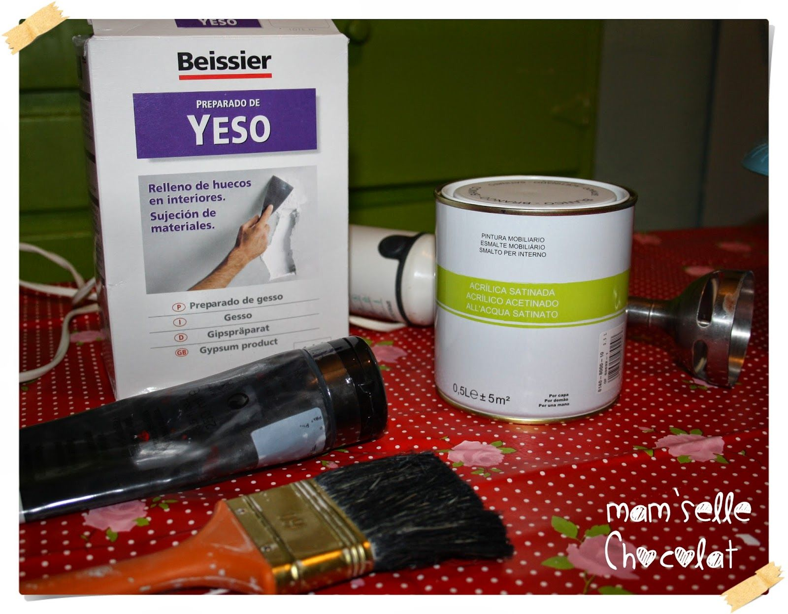 Hacer Pintura Chalk Paint Mam 39selle Chocolat Diy And Crafts Hacer Pintura A La Tiza