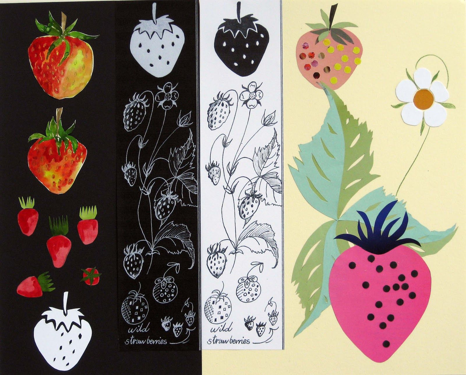 A Strawberry Worksheet By Hilary