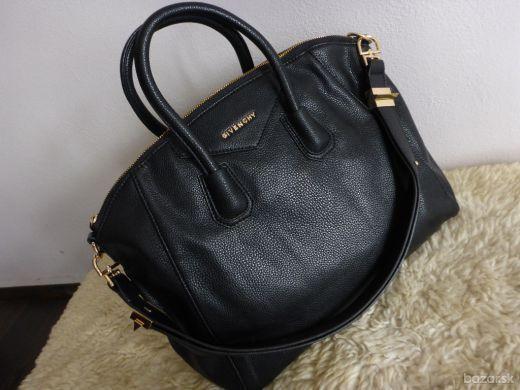 e1babfca26 Čierna veľká celebritná kabelka Givenchy