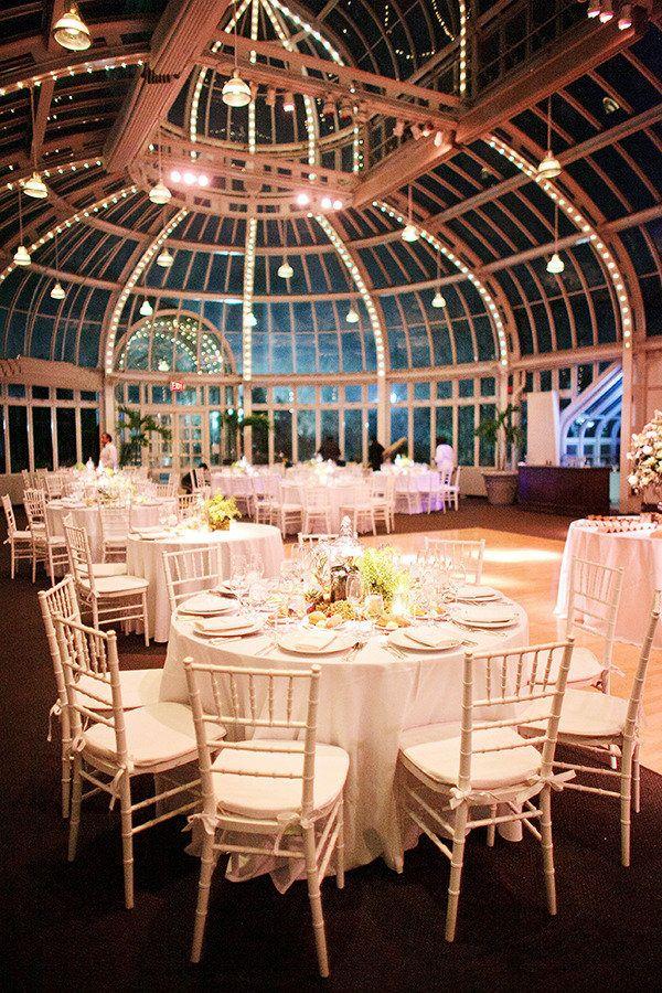 Brooklyn Botanical Garden Wedding at Palm House from Ciro