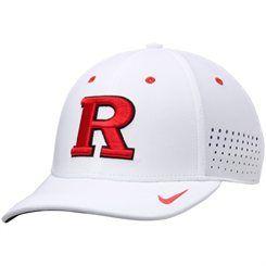 sale retailer d65ce 04710 Men s Nike White Rutgers Scarlet Knights Dri-FIT Sideline Swoosh Flex Hat
