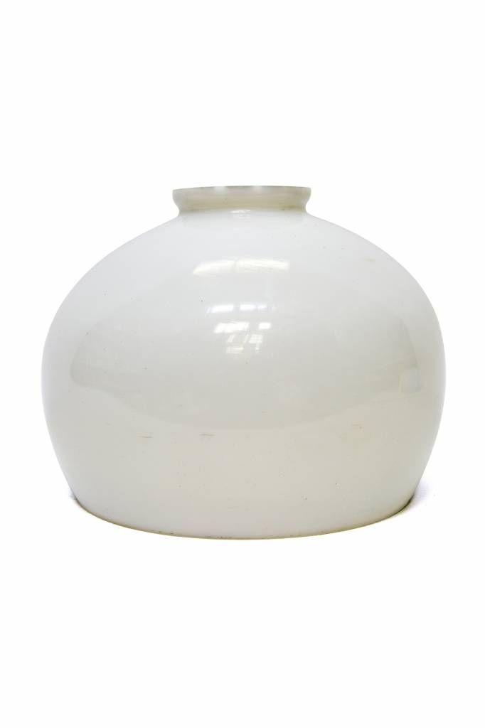 Oud Glazen Lampekapje.32 95 Glazen Lampenkap Klein Bol Rond Glazen