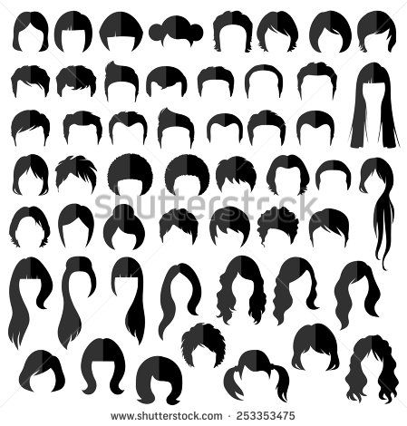 Stock Photos Royalty Free Images And Vectors Hair Vector Hair Illustration Hair Poster