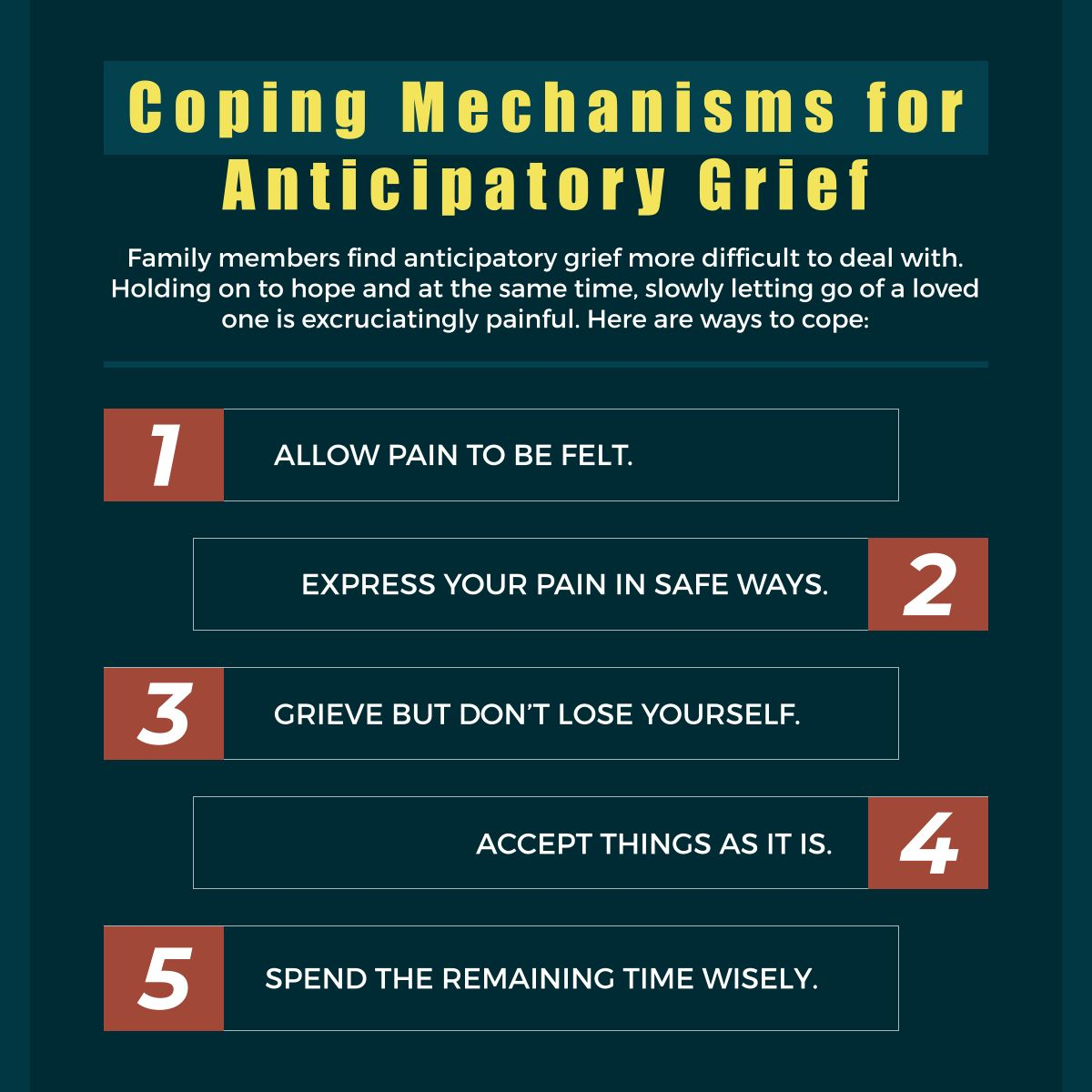 Coping Mechanisms For Anticipatory Grief