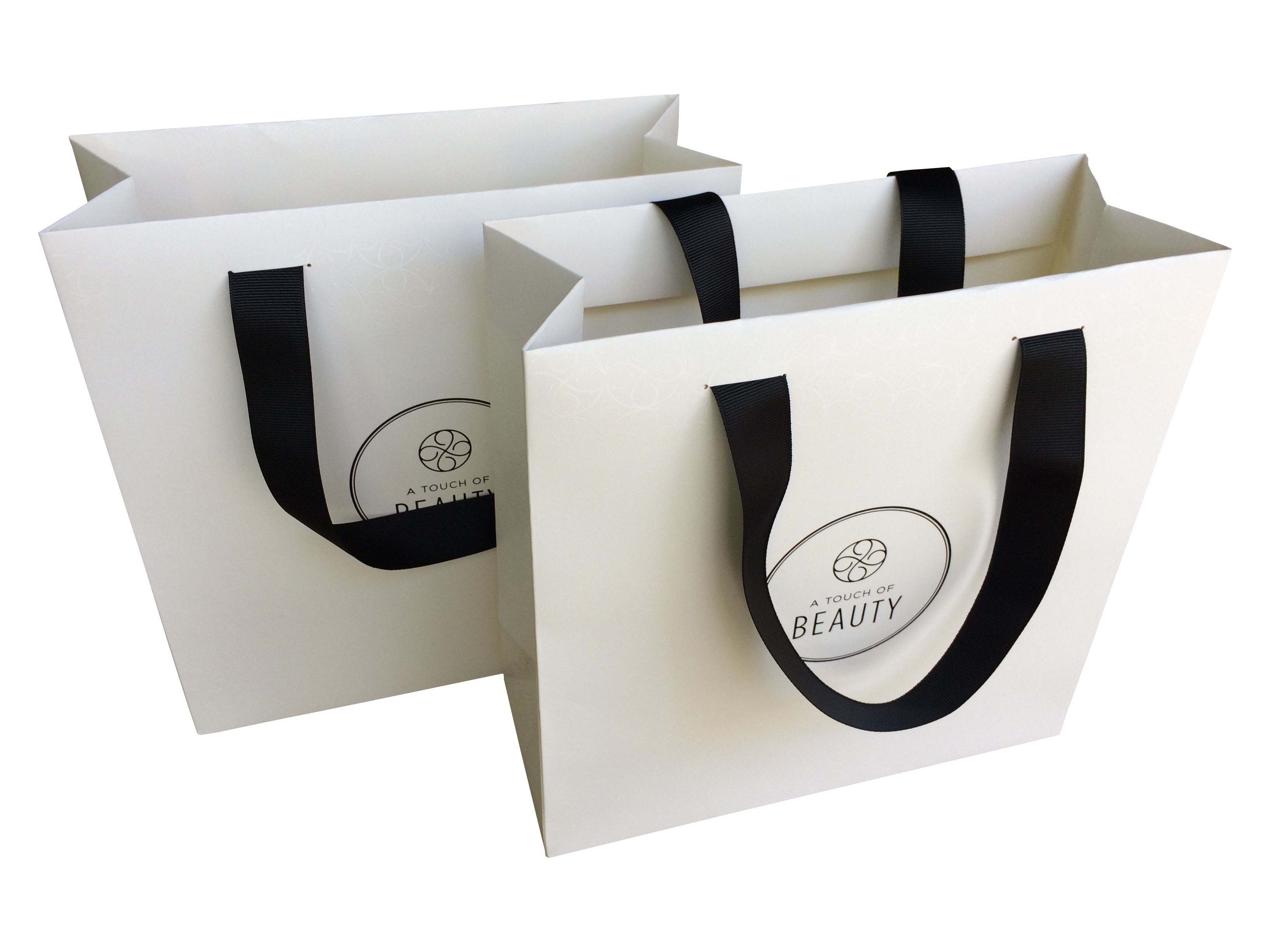 Classic boutique paper bags. Branded gift bags. Event bags. Retail ...