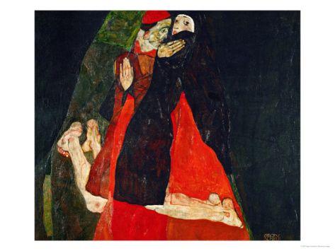 Cardinal and Nun (Liebkosung), 1912