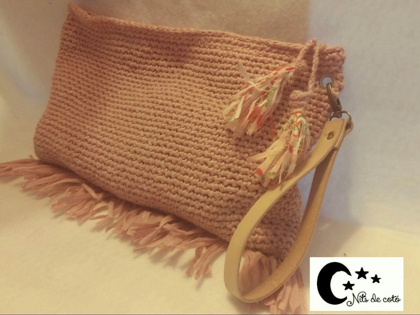 bolso de mano clutch # handmade # nitsdecoto