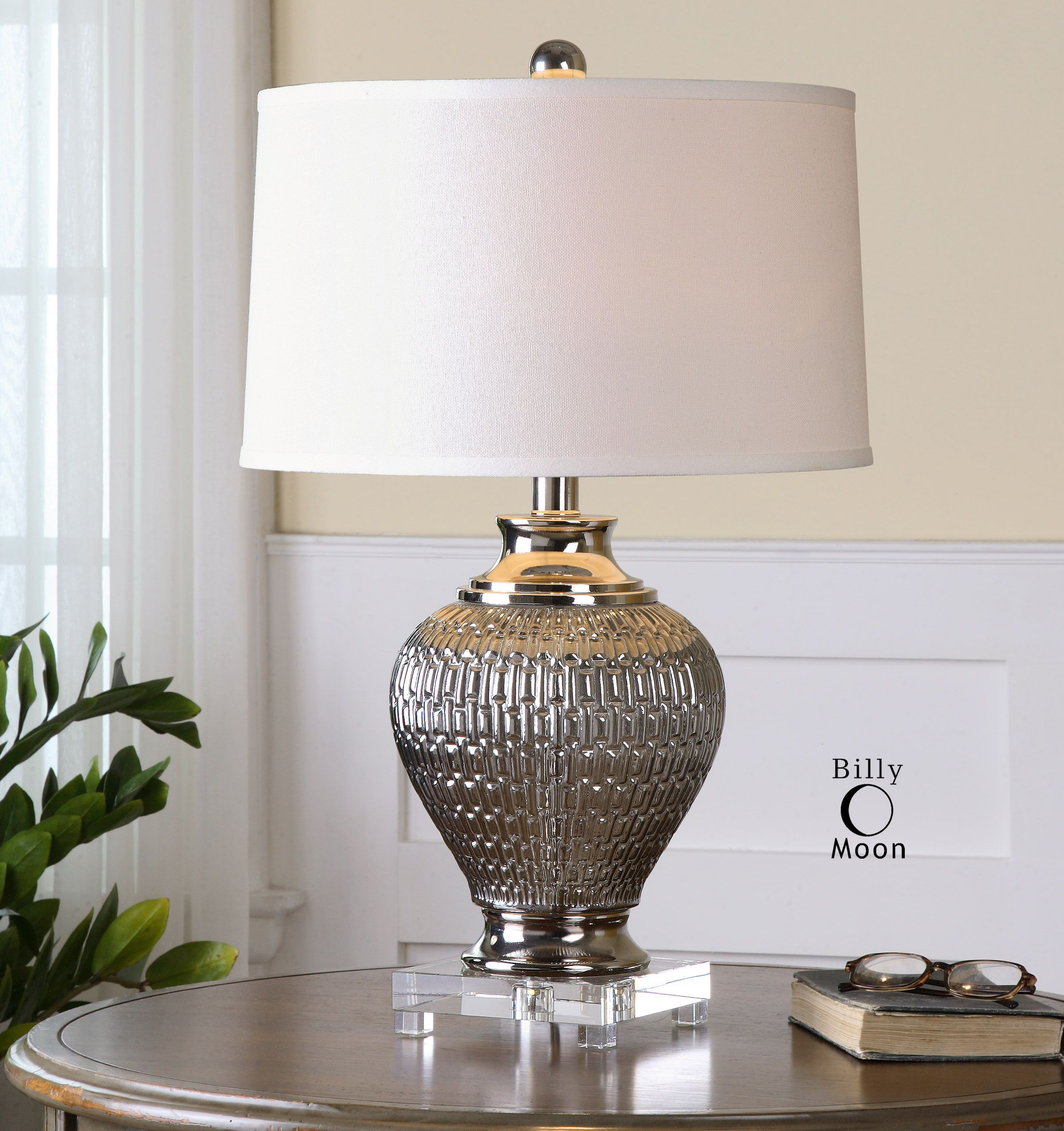 uttermost pinterest silver lamp