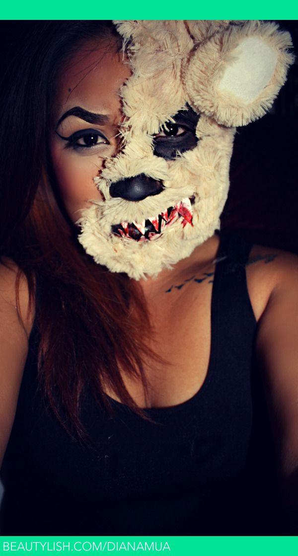 Killer Teddy Bear Look Costumemake Up Ideas Pinterest