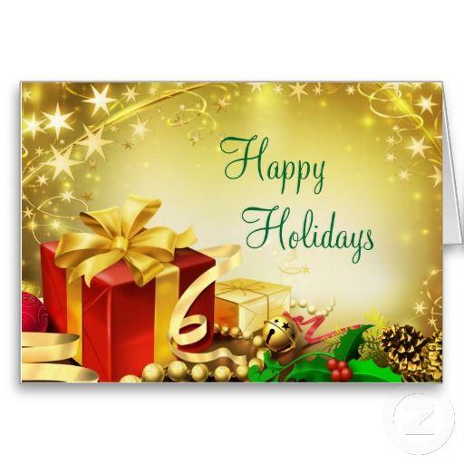 Happy Holidays Holiday Card | Zazzle.com