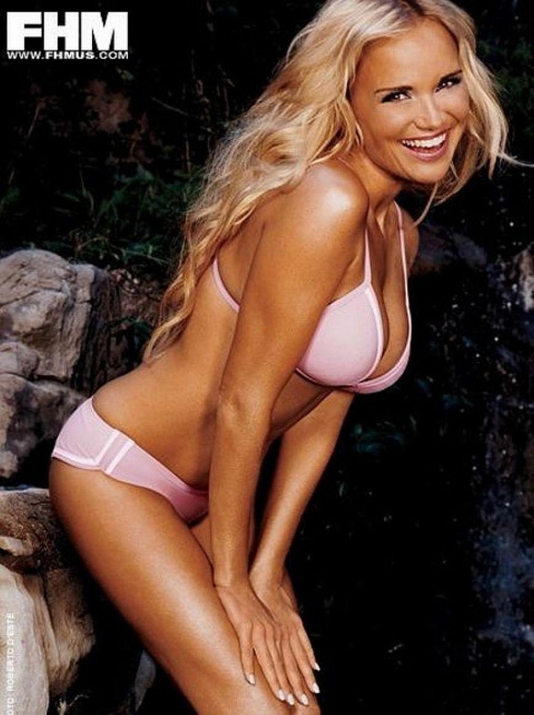 Aged bikini hot in middle woman