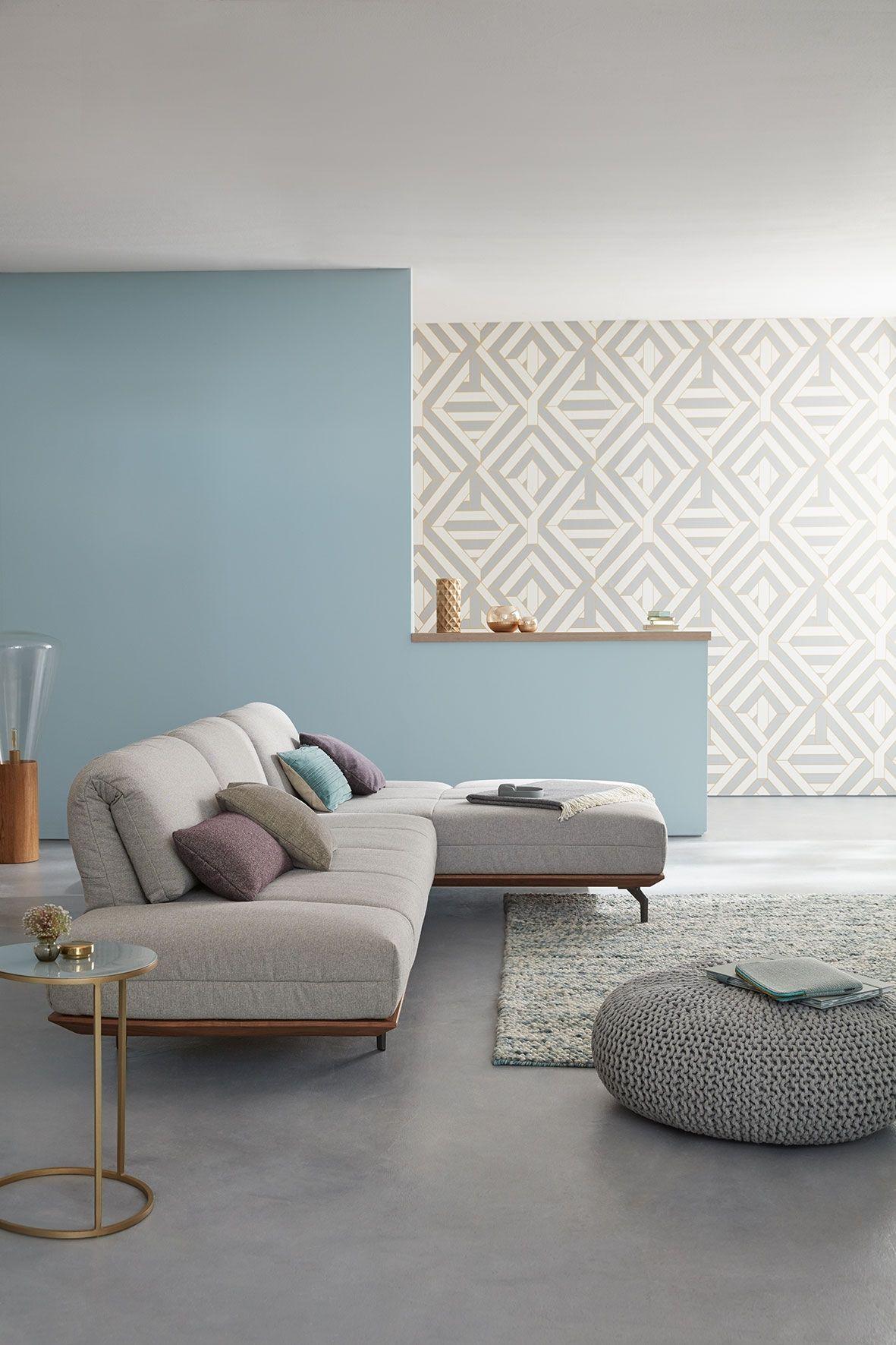 hlsta sofa garnitur awesome rolf benz cara sofa mit funktionen und kissen in stoff weinrot with. Black Bedroom Furniture Sets. Home Design Ideas