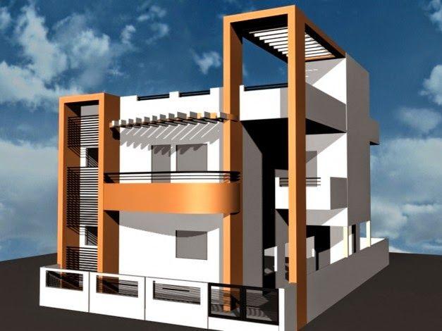 Desain 3 Dimensi Rumah Minimalis Dua Lantai | Griya ...