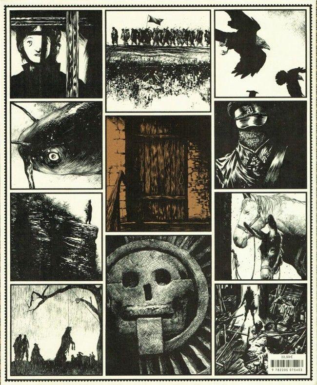 Le Rapport De Brodeck Larcenet : rapport, brodeck, larcenet, LARCENET., Rapport, Brodeck., L'indicible., Dargaud, ((album, L'italienne, Fourreau, Cartoons, Comics,, Graphic, Novel,, Historical, Figures