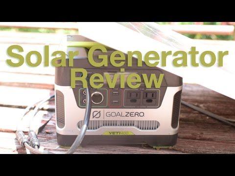 Goal Zero Yeti 400 Review Goal Zero Goals Solar Generator