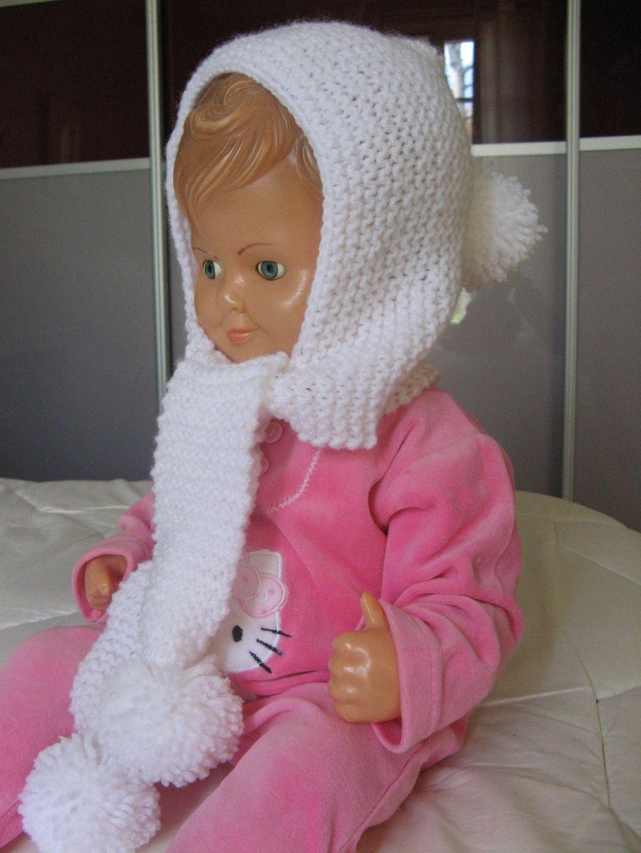 Extrêmement Joli petit bonnet cagoule (fille ou garçon) : Mode filles par l  UW12