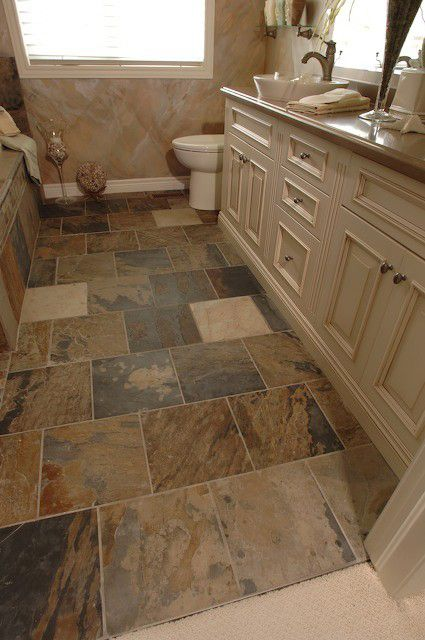 Indian Autumn Installation Slate Bathroom Floor Slate Bathroom Tile Slate Bathroom